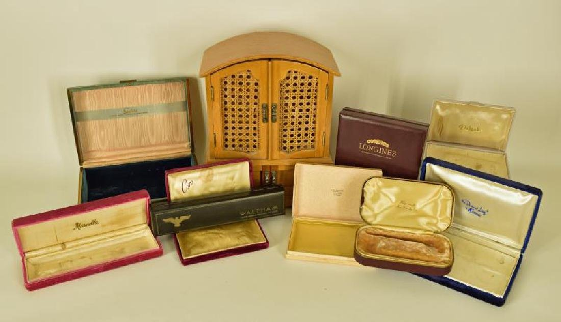 Collection Of Vintage Jewelry Boxes