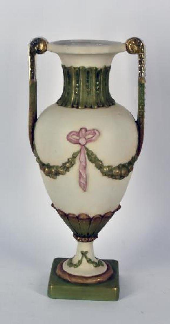 Royal Dux Flower Vase Bohemia