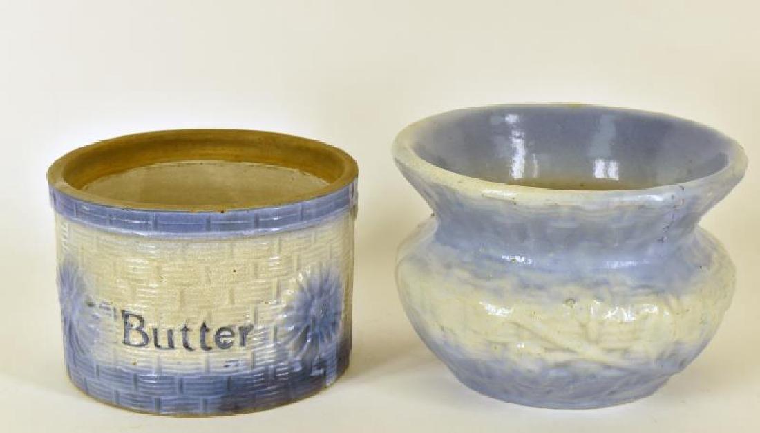 Blue And White Stoneware
