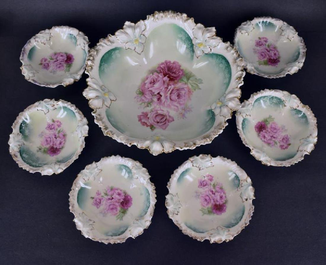 R S Prussia Berry Set
