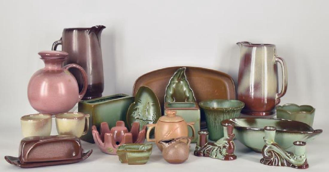 Collection Of Frankcoma Pottery