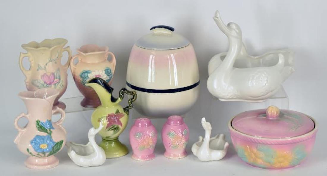 Collection Of Hull Pottery