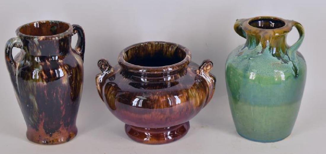 Collection Of  Possibly Mccoy Pottery