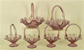 Collection Of Fenton Brides Baskets