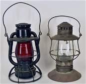 Vintage Railroad Lanterns