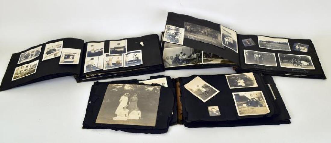 Three Vintage Photo Albums