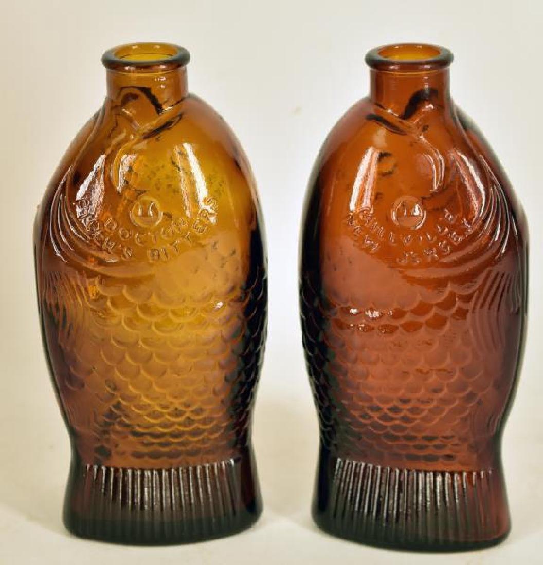Vintage Fisch's Bitters Bottles