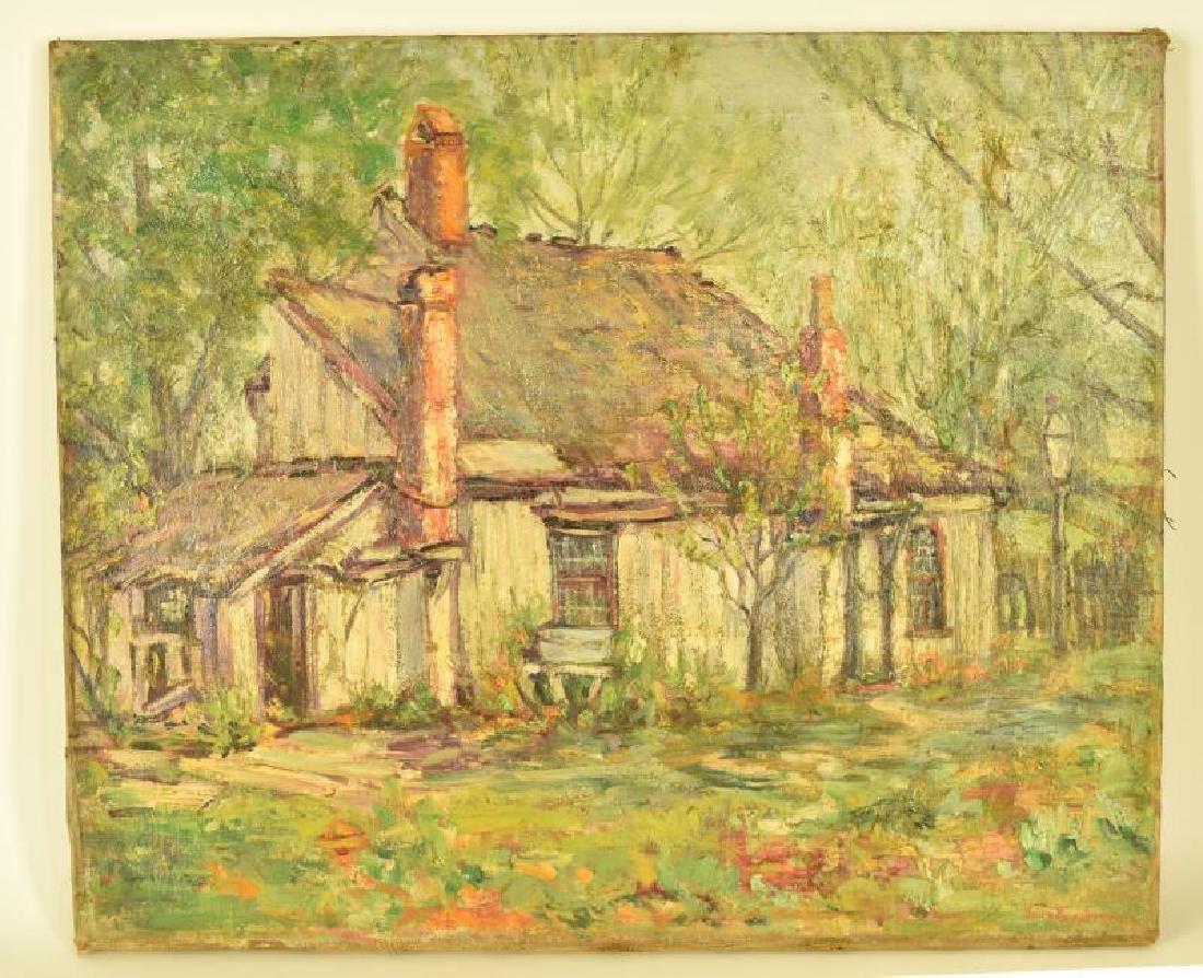 Elmira Kempton (1892-1971) Oil Painting