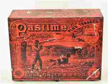 Pastime Tobacco Plug Display Box