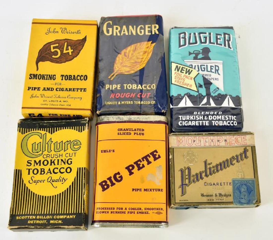 Collection Of Vintage Pocket Tobacco