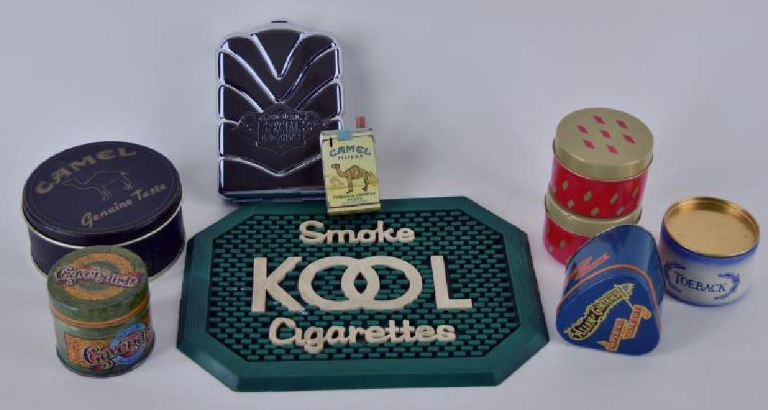 Collection Of Contemporary Tobacco Advertising