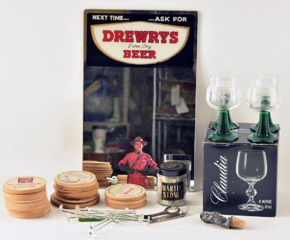 Collection Of Bar Ware