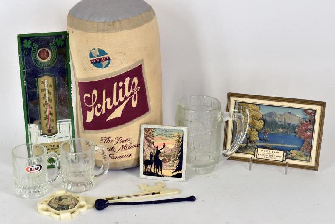 Collection Of Advertising Items