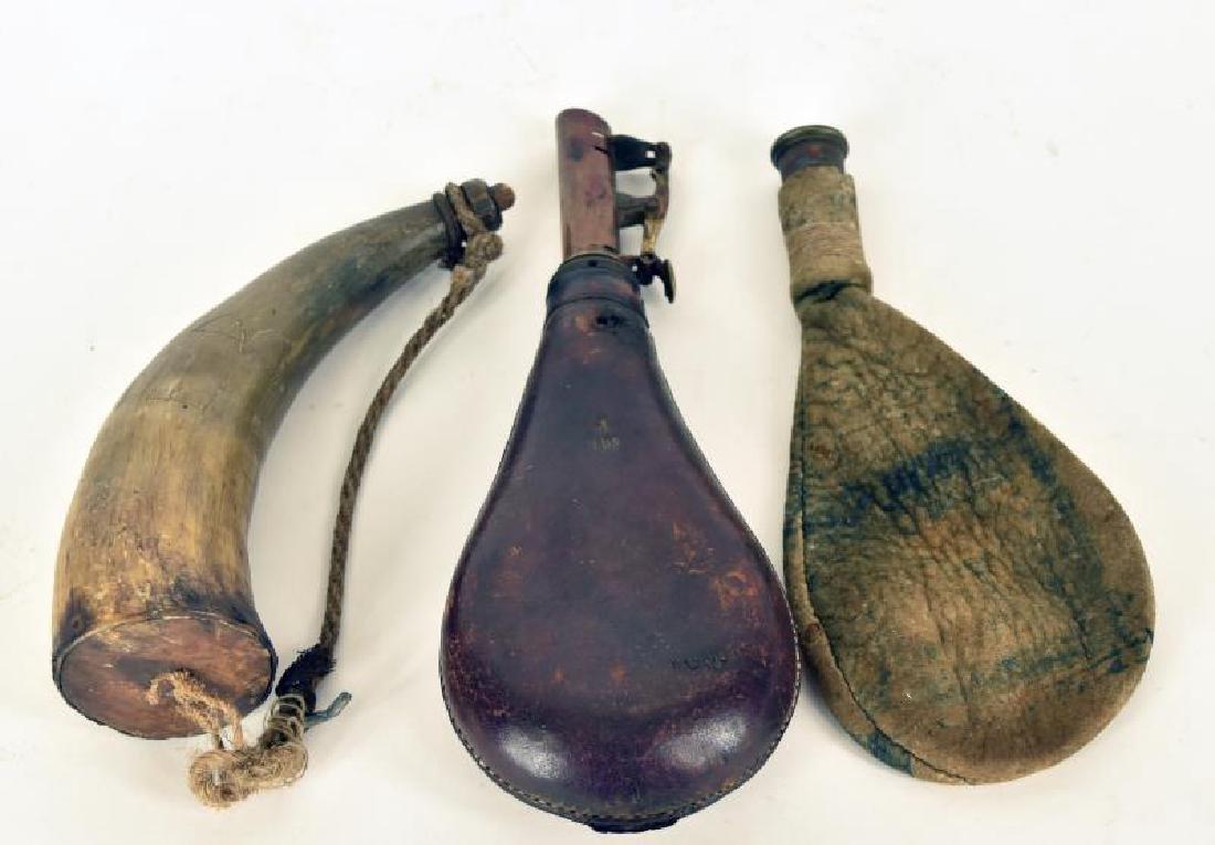 Primitive Powder Horns