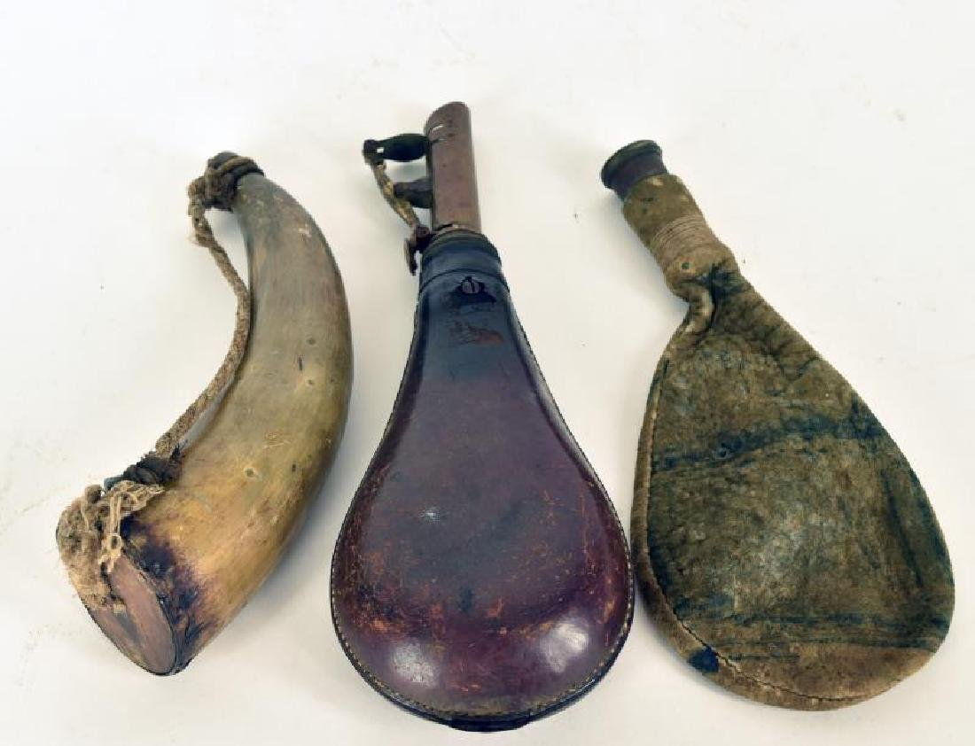 Primitive Powder Horns - 2