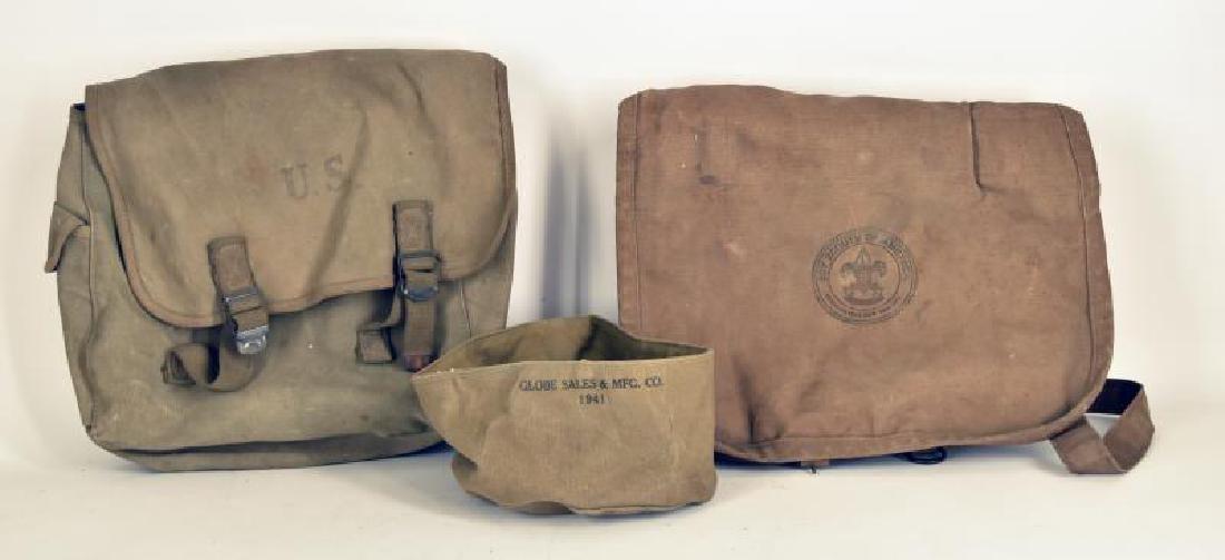 Vintage Boy Scout Messenger Bag
