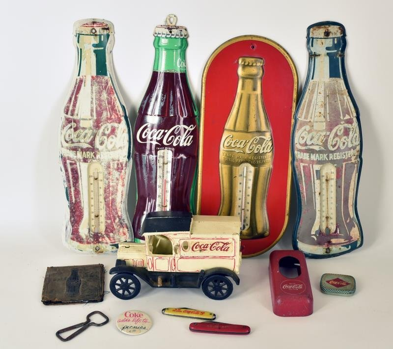 Collection Of Coca-cola Advertising
