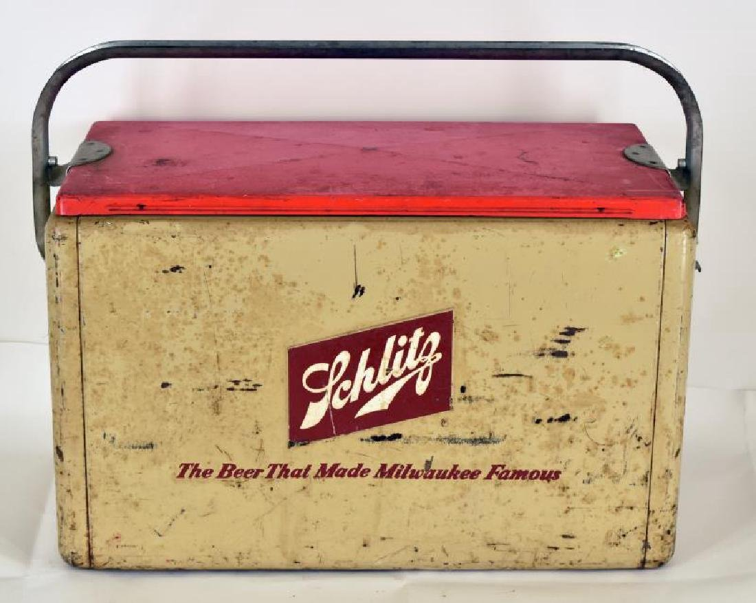 Vintage Schlitz Beer Cooler