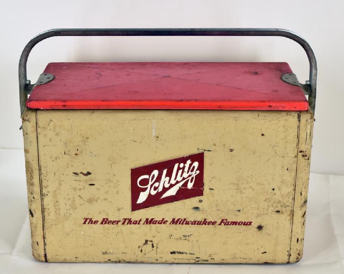 Vintage Schlitz Beer Cooler - 2