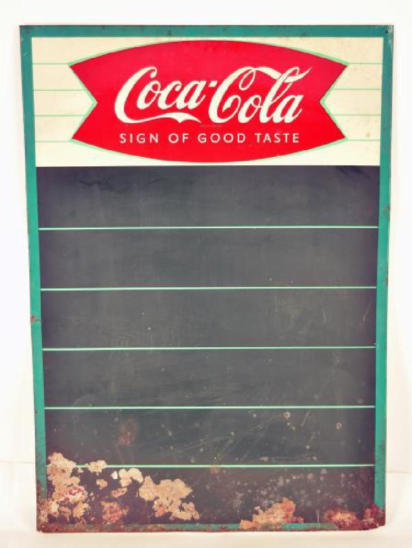 Vintage Coca-cola Menu Board
