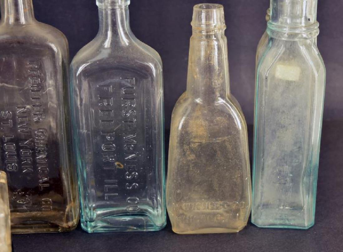 Collection Of Embossed Medical Bottles - 2
