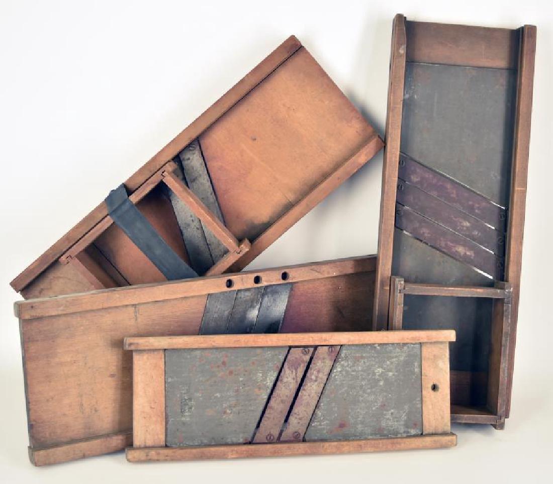 Wooden Slaw Cutters