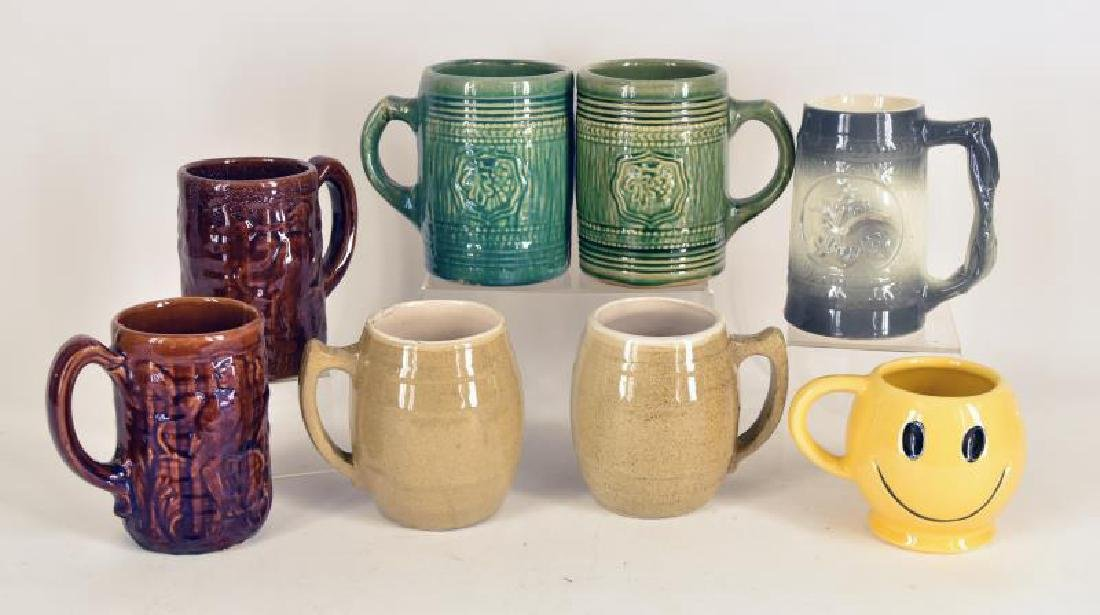 Collection Of Mccoy Pottery Mugs