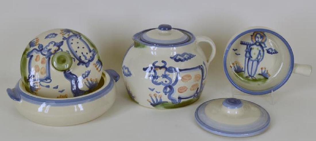Collection Of M A Hadley Pottery - 2