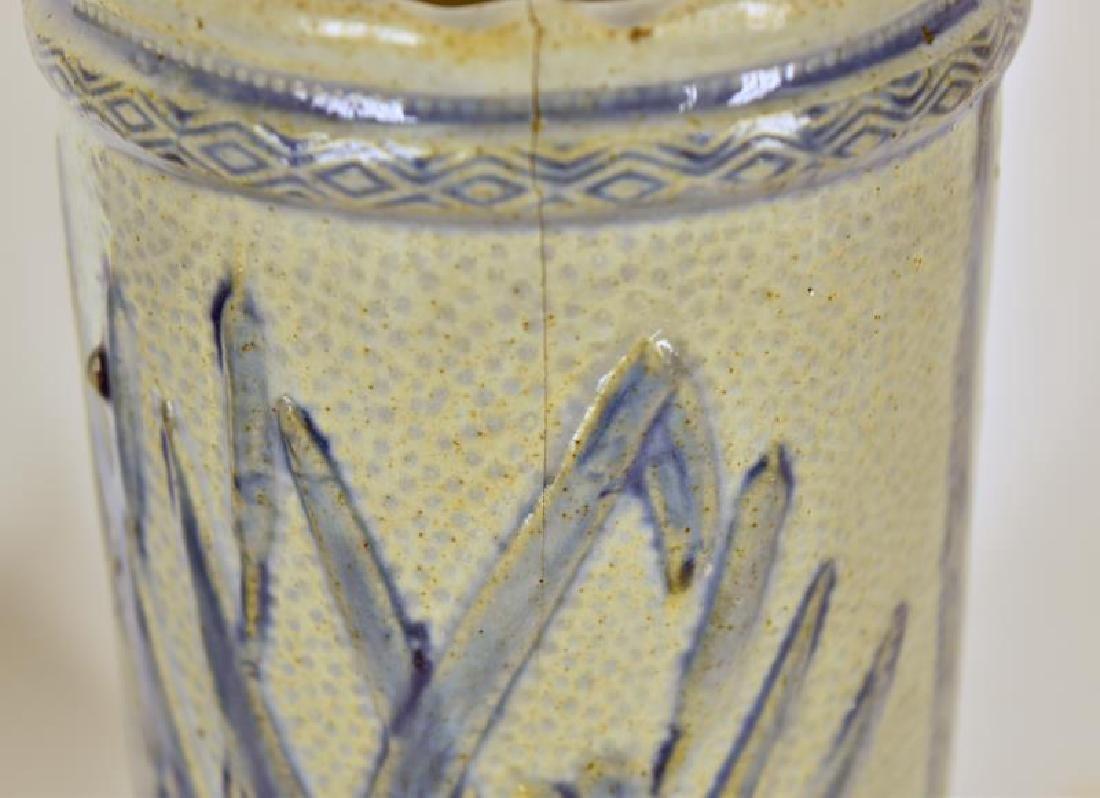 Old Sleepy Eye Flower Vases - 4