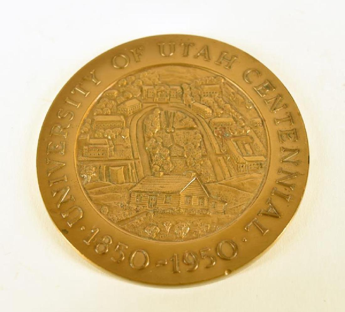 University Of Utah Commemorative Paperweight