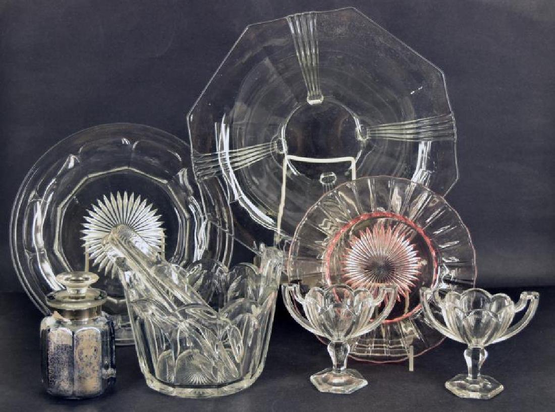 Collection Of Heisey Glassware