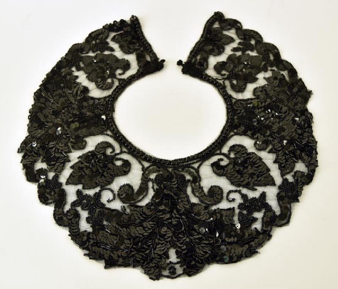 Black Dress Collar