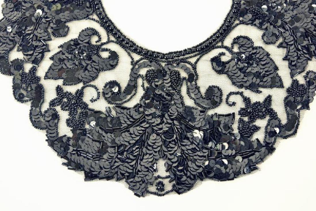 Black Dress Collar - 2