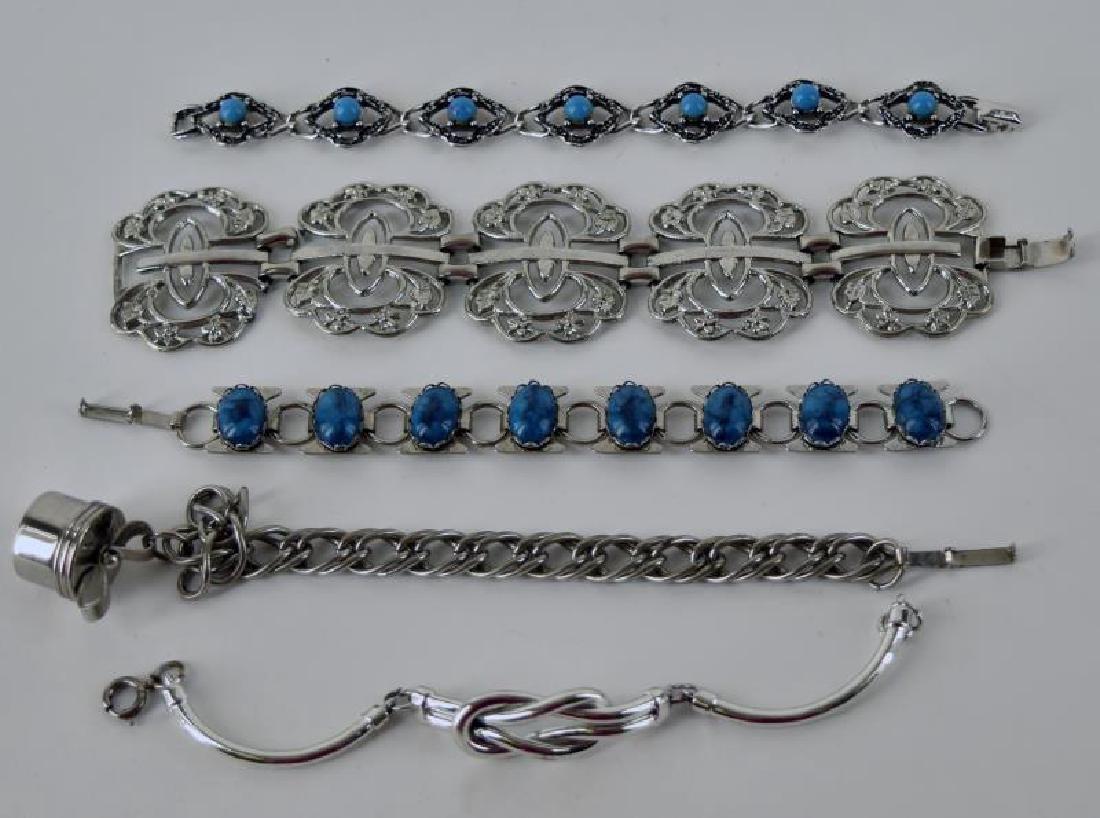 Sarah Coventry Turquoise Bracelet