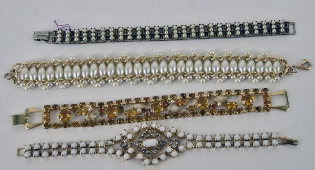 Four Contemporary Bracelets