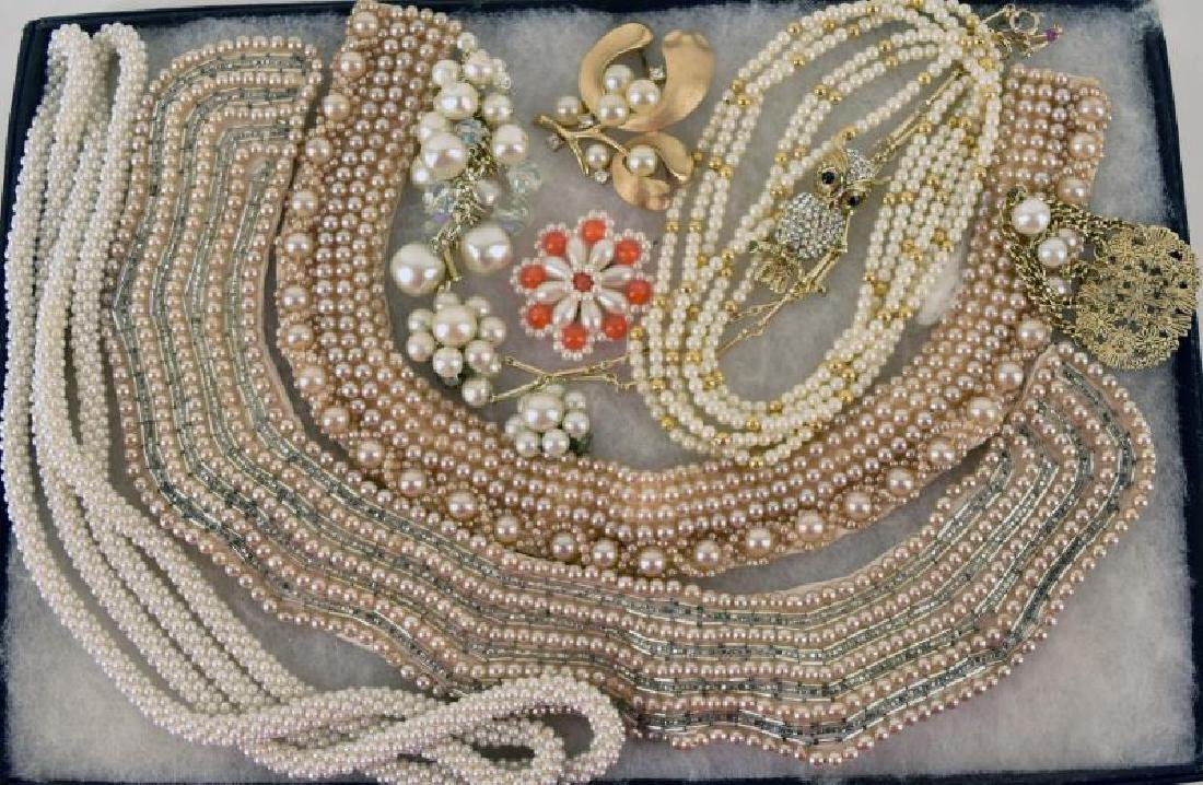 Collection Of Pearl Jewelry