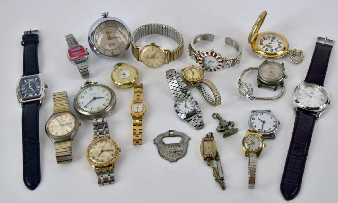 Collection Of Various Watches