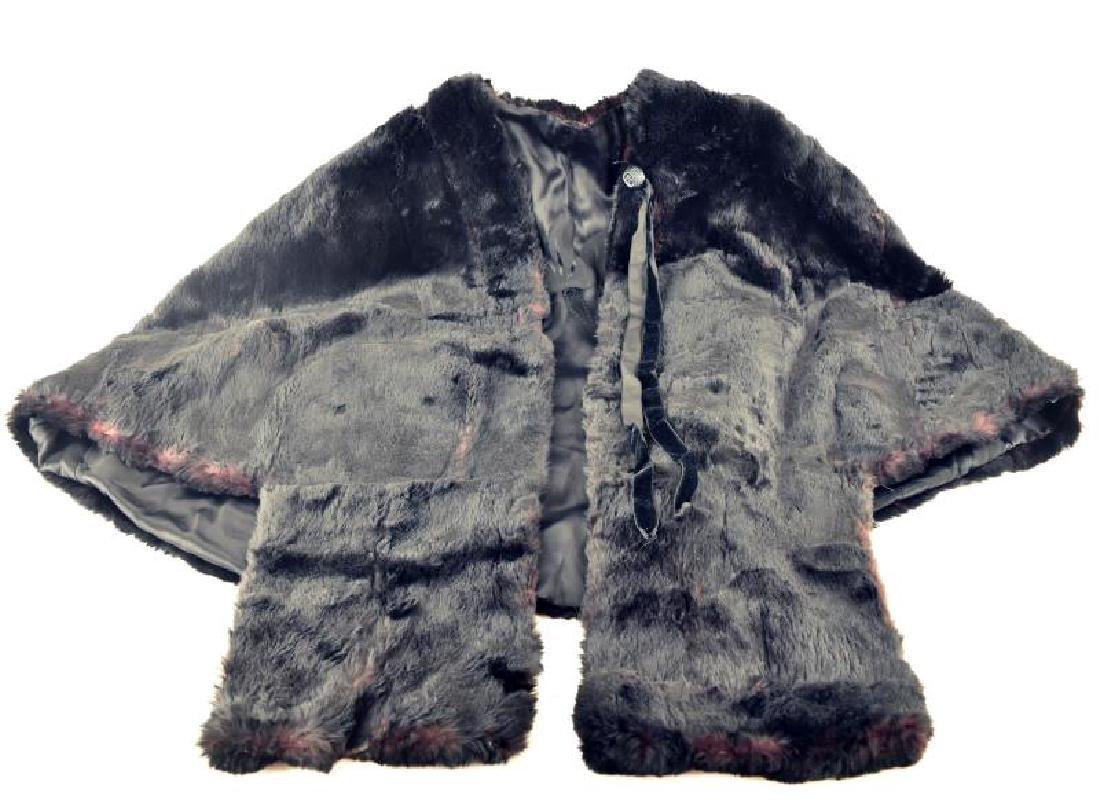 Vintage Fur Caplet