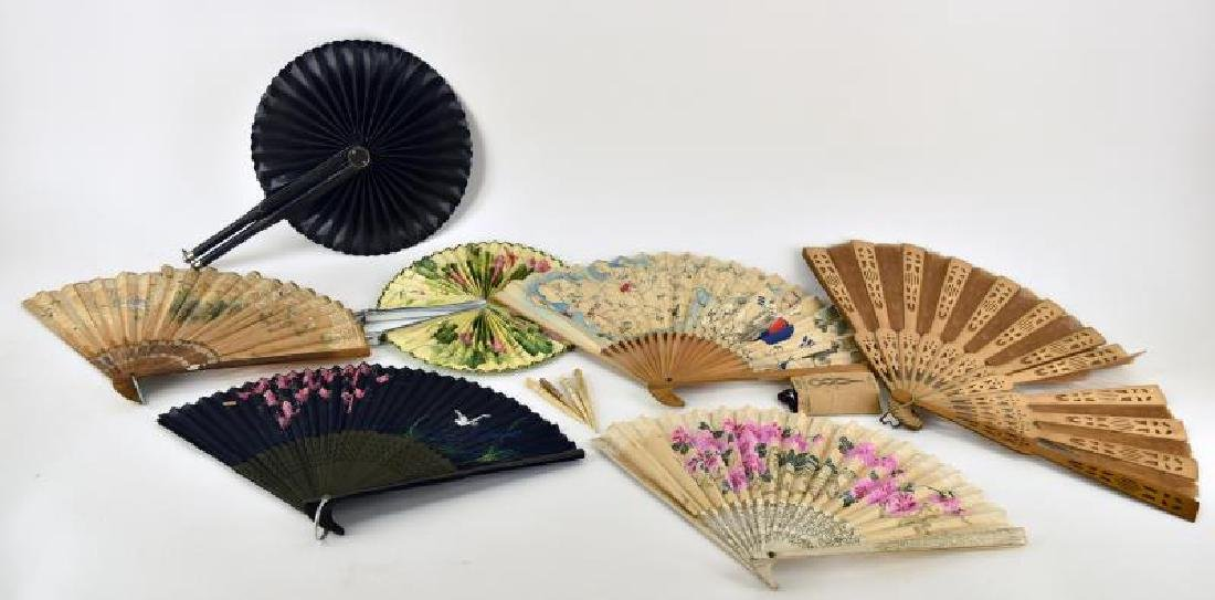 Collection Of Vintage Fans