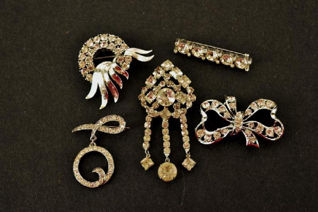 Collection Of Rhinestone Pins