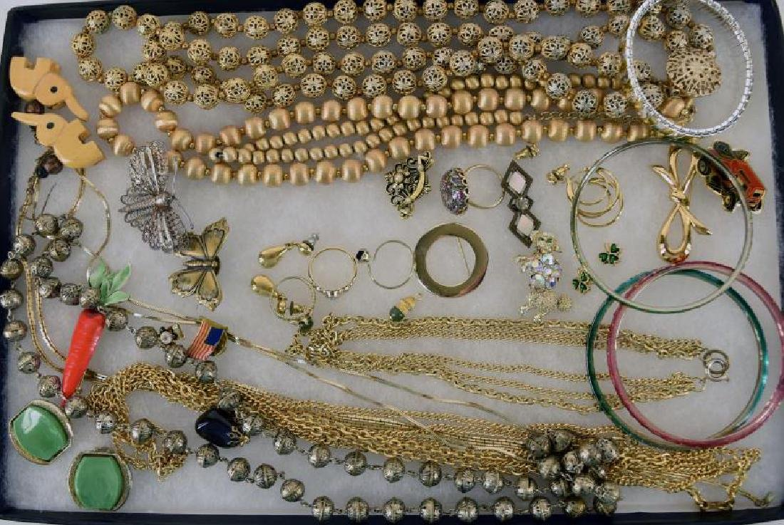 Collection Of Goldtone Jewelry