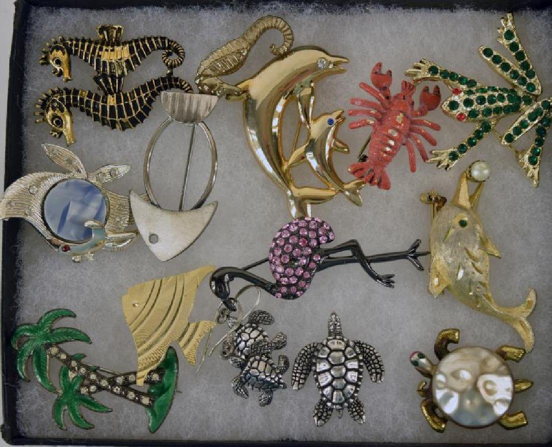 Collection Of Sea Animal Pins