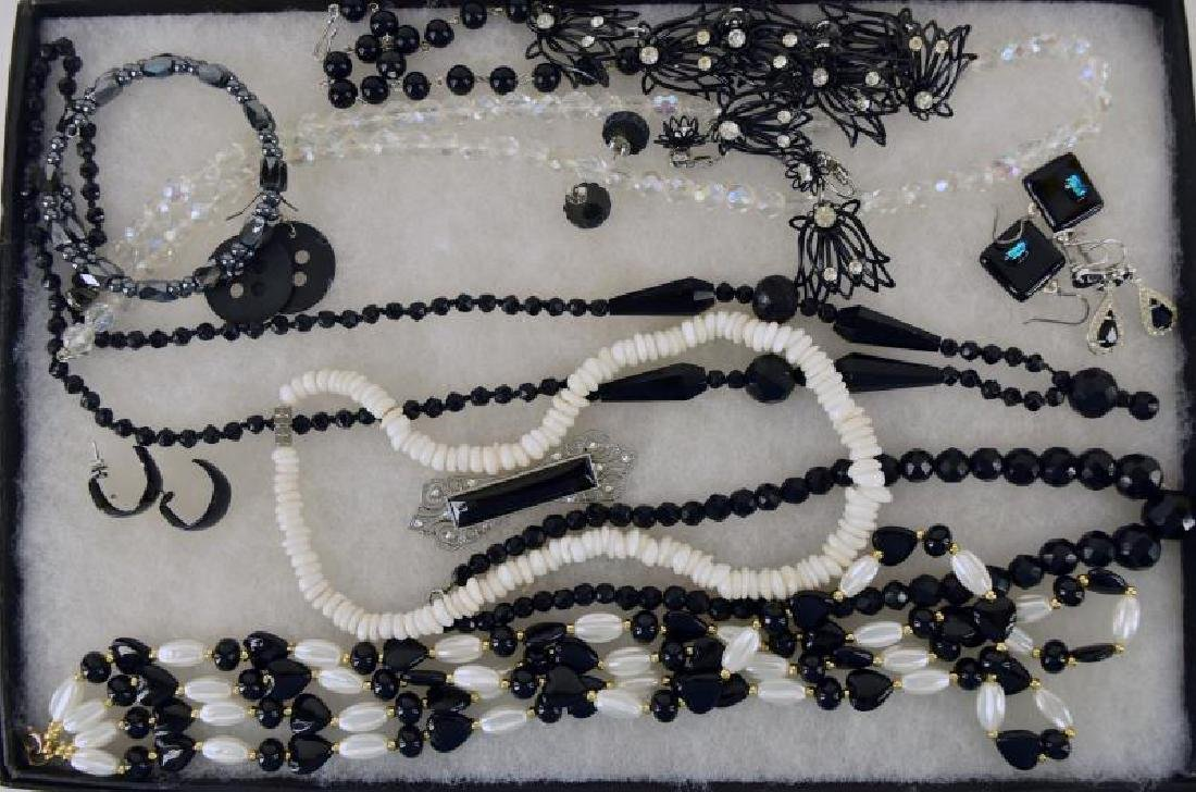 Collection Of Black And White Jewelry