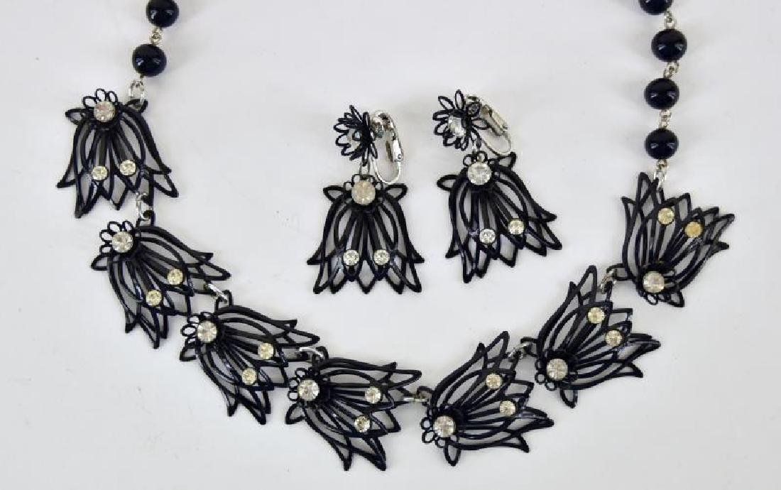Collection Of Black And White Jewelry - 2