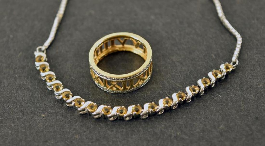 Collection Of Sterling Jewelry