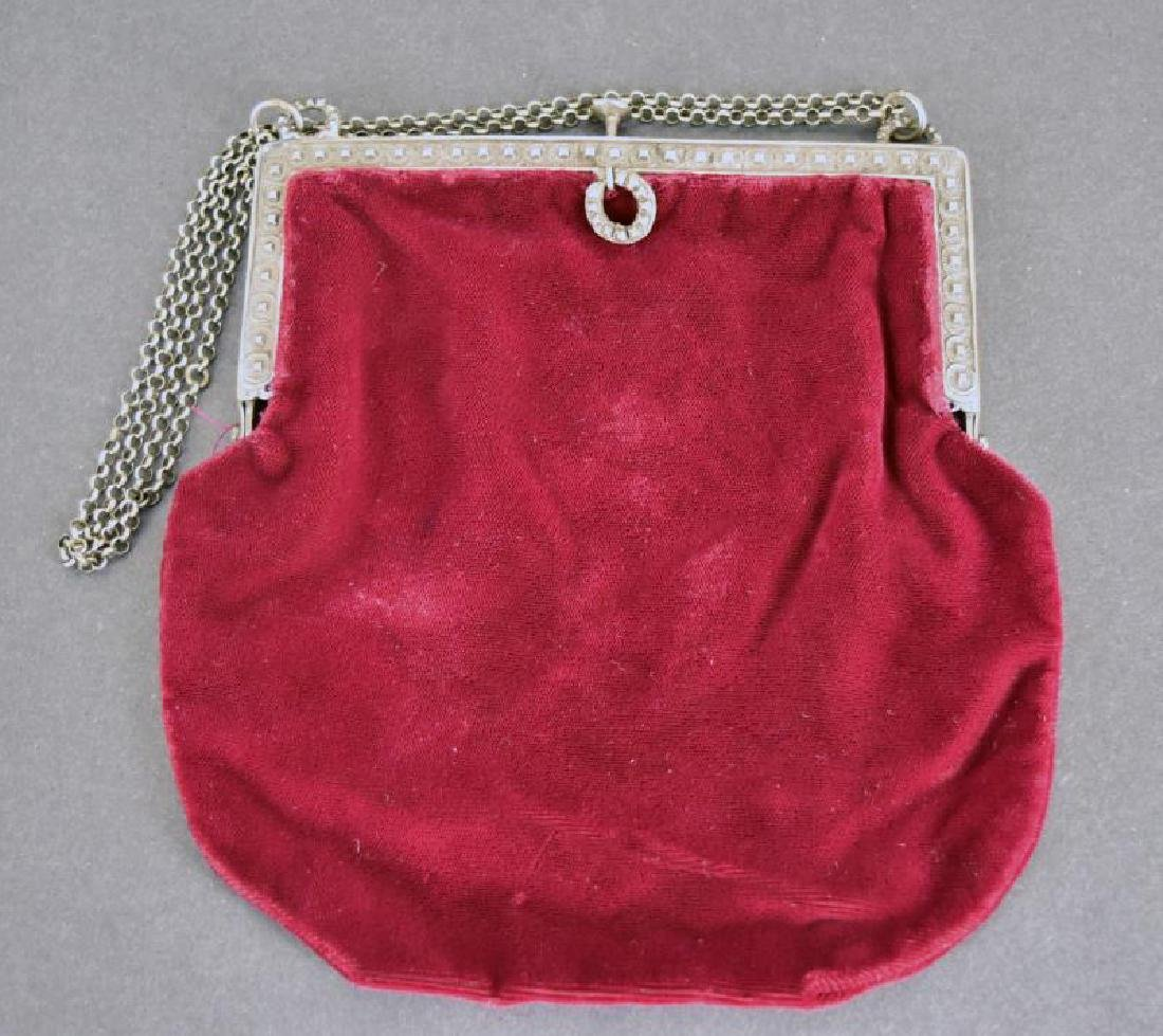 Red Velvet French Bag