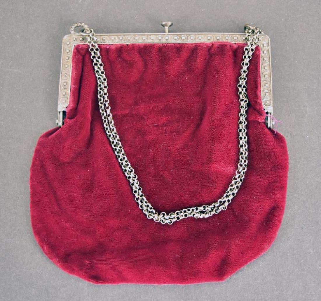 Red Velvet French Bag - 2