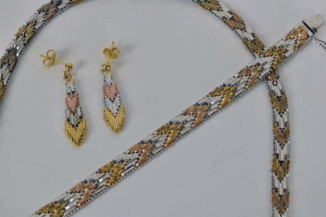 Sterling Italy Demi-parure Set - 2