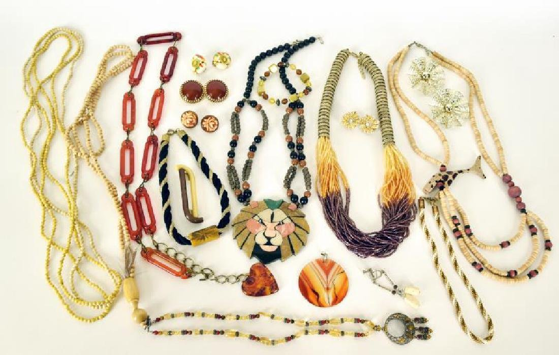 Collection Of Costume Jewelry