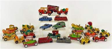 Collection Of Tootsie Toy Cars